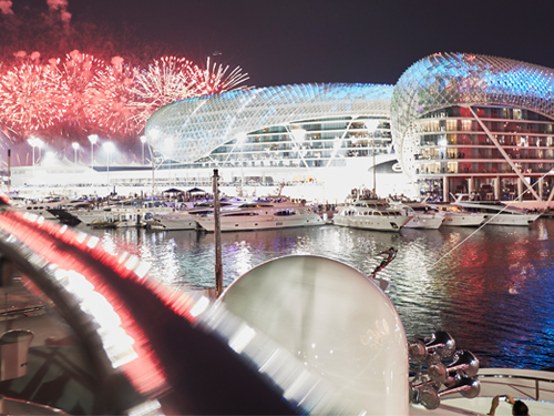 Abu Dhabi Grand Prix Yacht Party