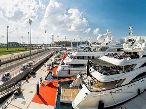 Abu Dhabi Grand Prix Yacht Hospitality