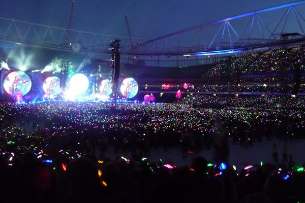 Coldplay Tour Cardiff