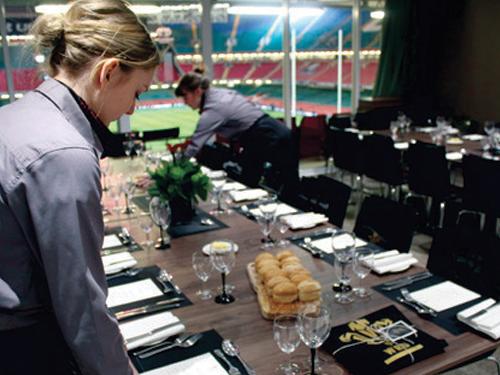 Principality Stadium hospitality box