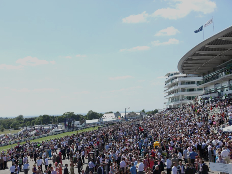 Tattenham straight hospitality packages investec epsom for 2b cuisine epsom downs