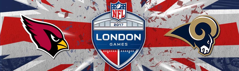 Image result for Arizona Cardinals vs. LA Rams @ London Twickenham