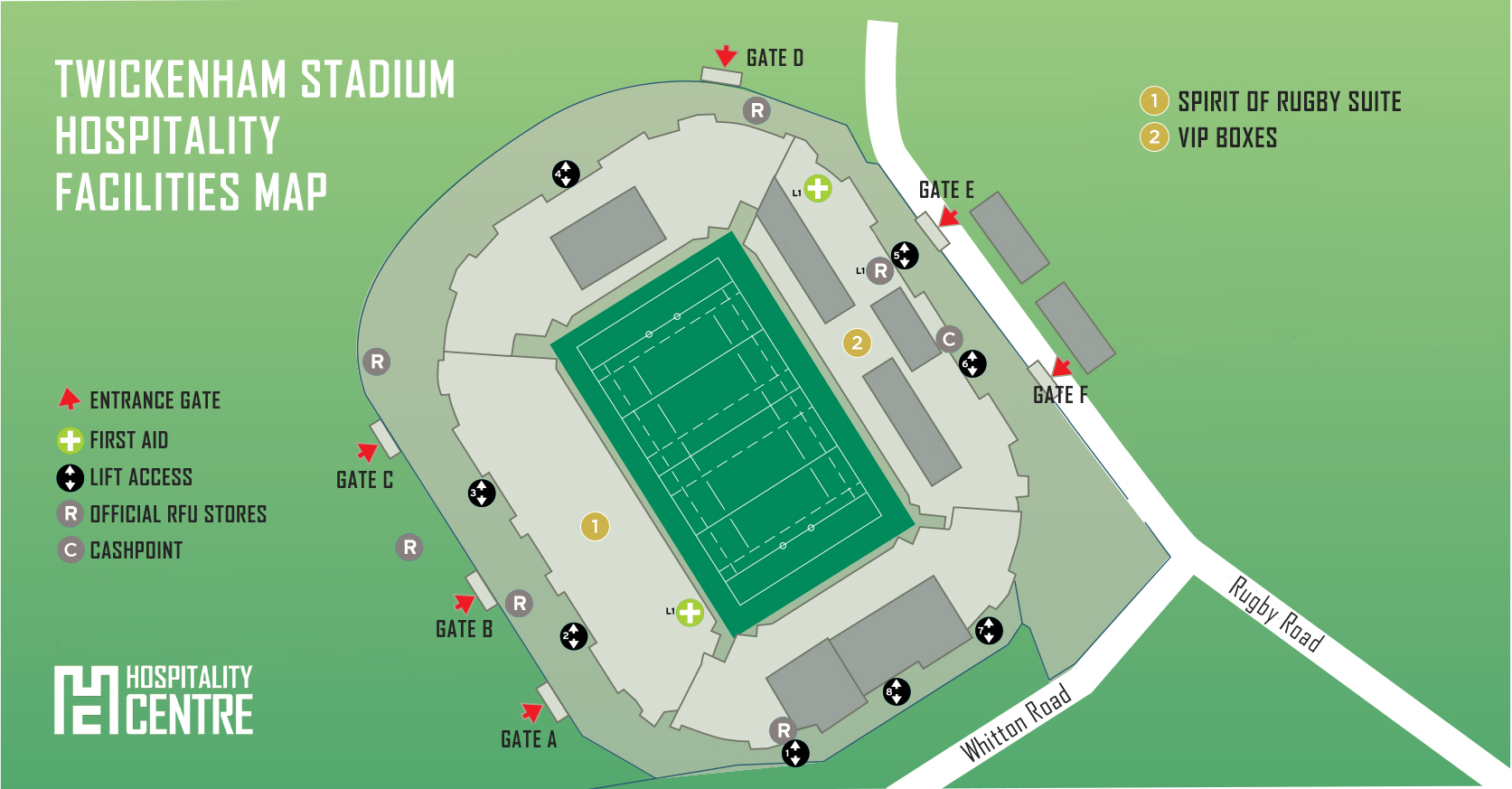 bath v leicester hospitality packages