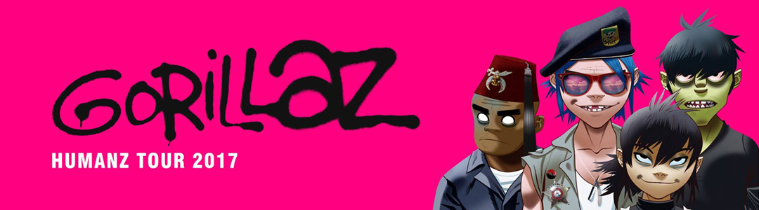 Gorillaz vip tickets hospitality boxes gorillaz humanz tour 2017 m4hsunfo