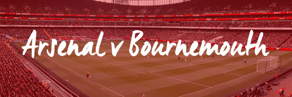 Arsenal v Bounremouth Hospitality