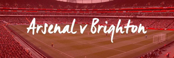 Arsenal v Brighton Hospitality