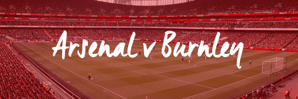 Arsenal v Burnley Hospitality