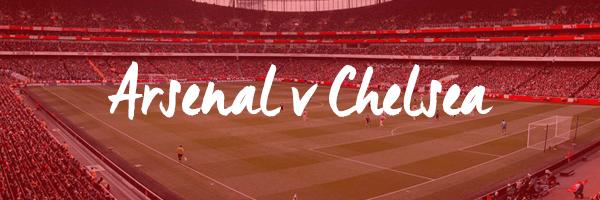 Arsenal v Chelsea Hospitality