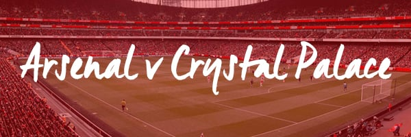 Arsenal v Crystal Palace Hospitality