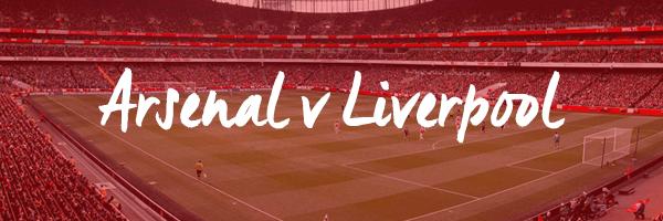 Arsenal v Liverpool Hospitality