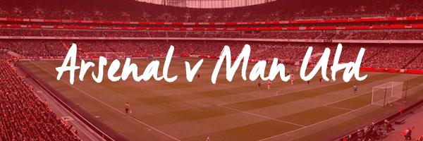 Arsenal v Manchester United Hospitality