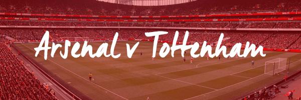 Arsenal v Tottenham Hospitality