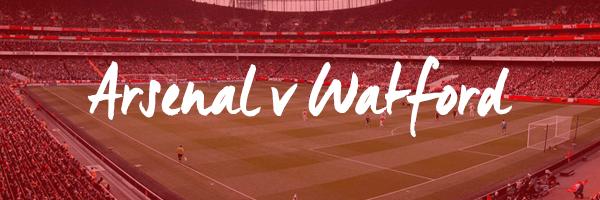 Arsenal v Watford Hospitality