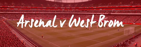 Arsenal v West Brom Hospitality