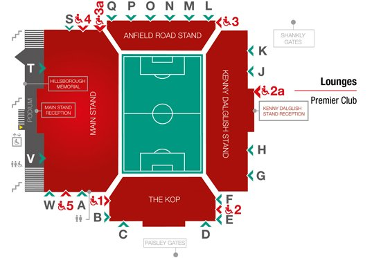 Liverpool v Leicester VIP tickets