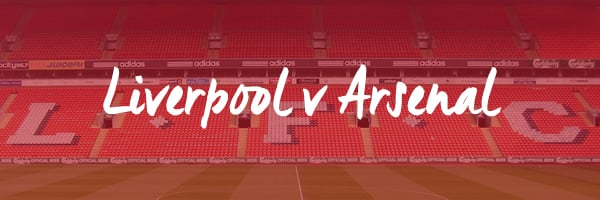 Liverpool v Arsenal Hospitality