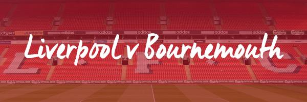 Liverpool v Bournemouth Hospitality