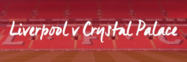 Liverpool v Crystal Palace Hospitality