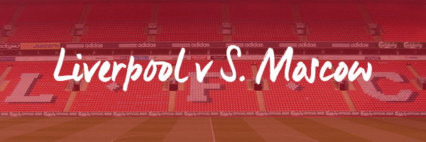 Liverpool v Spartak Moscow Hospitality