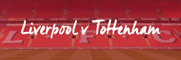 Liverpool v Tottenham Hospitality