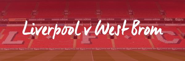 Liverpool v West Brom Hospitality