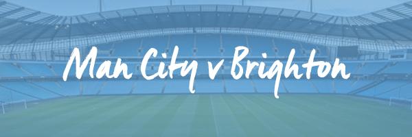 Manchester City v Brighton Hospitality