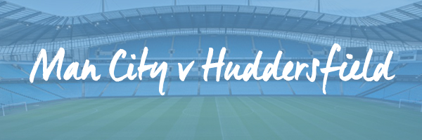 Manchester City v Huddersfield Hospitality