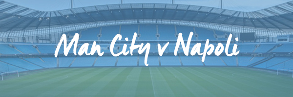 Manchester City v Napoli Hospitality