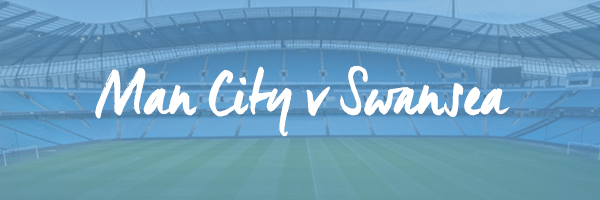 Manchester City v Swansea Hospitality