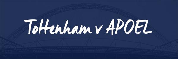Tottenham v APOEL Hospitality