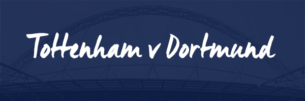 Tottenham v Borussia Dortmund Hospitality