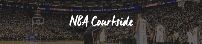 NBA London Courtside