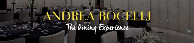 Andrea Bocelli hospitality