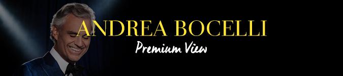 Andrea Bocelli VIP Tickets