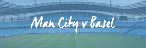 Manchester City v Basel Hospitality