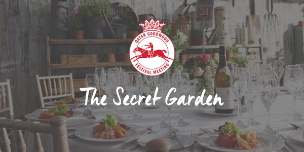 Glorious Goodwood Hospitality Secret Garden Link   Corporate Hospitality U0026  VIP Tickets