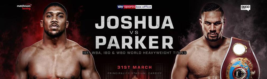 Joshua v Parker VIP Tickets