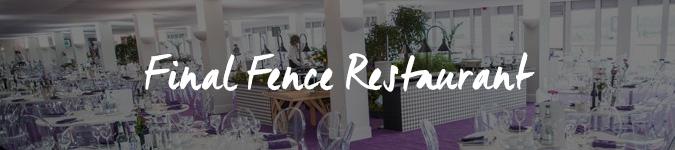 Cheltenham Festival Final Fence Restaurant