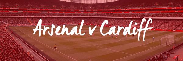 Arsenal v Cardiff Hospitality