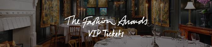 Fashion Awards VIP tickets