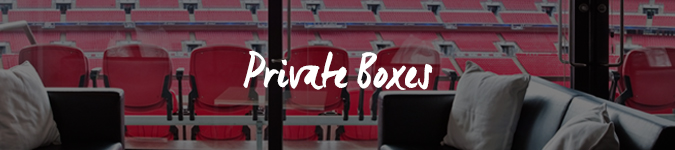Spice Girls private box