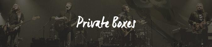 The Eagles private box