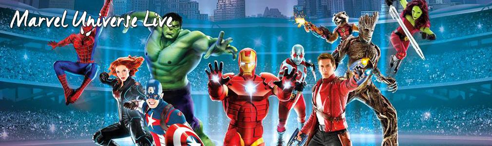 marvel universe live VIP tickets