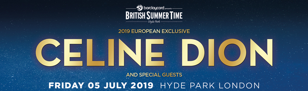 Celine Dion Hyde Park Vip Tickets Hospitality Packages