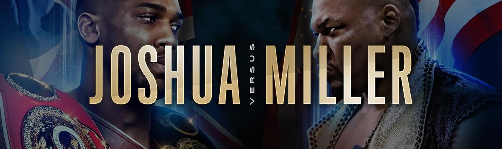 Joshua v Miller VIP Tickets