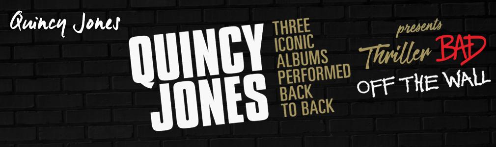 quincy jones VIP tickets