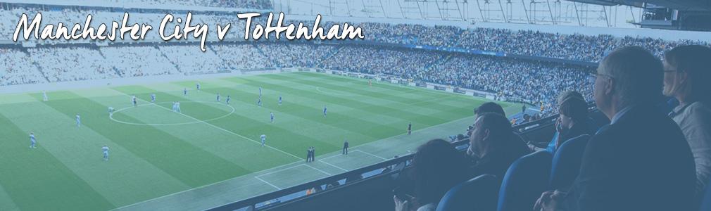 Manchester City v Tottenham hospitality