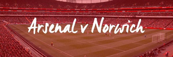 Arsenal v Norwich Hospitality