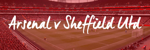 Arsenal v Sheffield United Hospitality