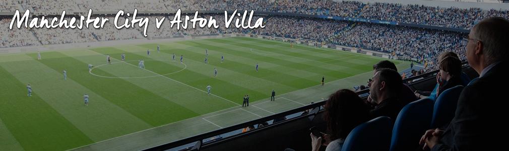 man city v aston villa hospitality